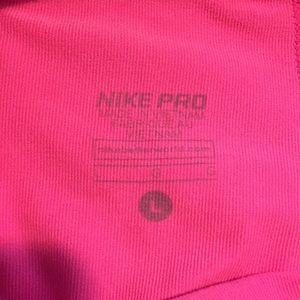 Nike Bottoms - Nike pro hot pink shorts